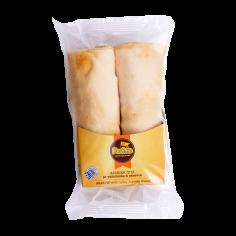 αραβική πίτα με γαλοπούλα και γκούντα